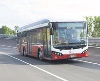 Yerli elektrikli otobüs SILEO Avrupa'da görücüye çıktı