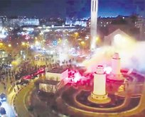 Paris'te çirkin saldırı