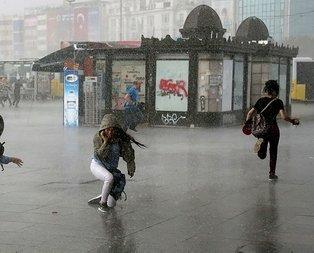 İstanbul ve 12 il için son dakika yağış uyarısı