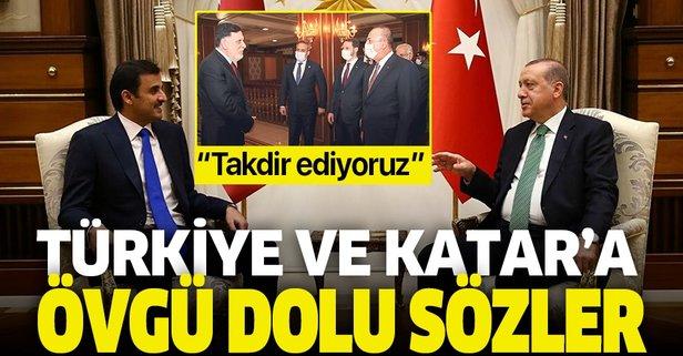 Türkiye ve Katar'ı övdüler