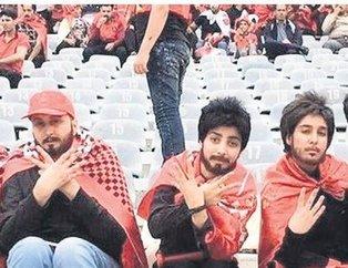 İranlı fotoğrafçı Alaei erkek kılığında maç izledi! CIA'in parmağı mı var?