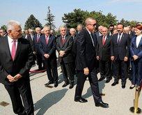 Erdoğanın elini her sıktığında yüzü değişen Kılıçdaroğlu