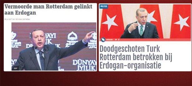 Hollanda basınından alçak algı oyunu
