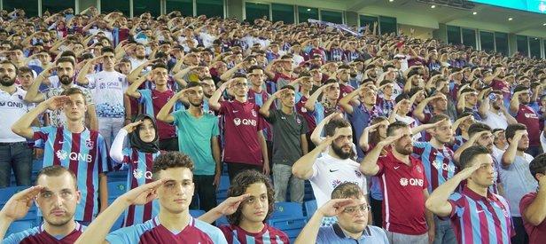 Trabzon Eren için ayakta