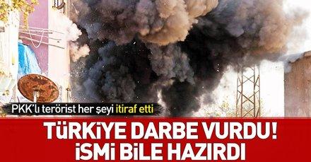 PKKlı terörist itiraf etti: Adı bile hazırdı! Türkiye darbe vurdu
