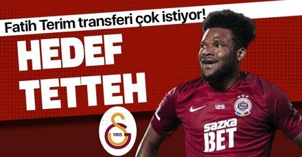 Galatasaray'ın Benjamin Tetteh aşkı depreşti