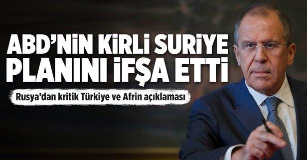 Rusyadan Türkiye ve Afrin açıklaması