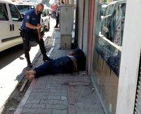 Bıçaklı kavgada 2 kardeş ve bir polis yaralandı