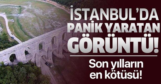 Kuraklık Istranca barajlarını vurdu