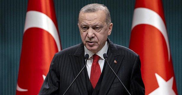 Başkan Erdoğan'dan şehit ailesine başsağlığı mesajı