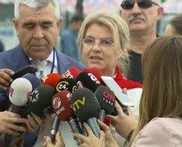 AK Parti'nin İstanbul mitingine Tansu Çiller de katıldı