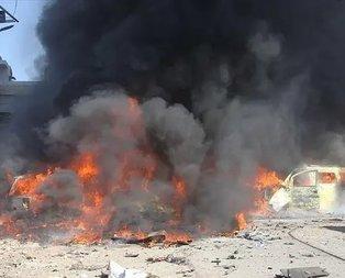 Suriye-Türkiye sınırında bombalı saldırı!