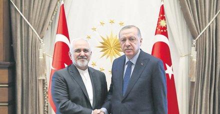 İran Dışişleri Bakanı Zarif, Esed görüşmesine ilişkin hazırladığı raporu Başkan Erdoğan'a verdi