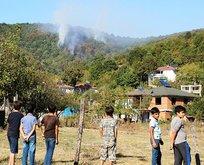 Sakarya'da çıkan orman yangını söndürüldü