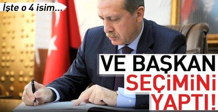 Başkan Erdoğan, Danıştaya 4 üye seçti