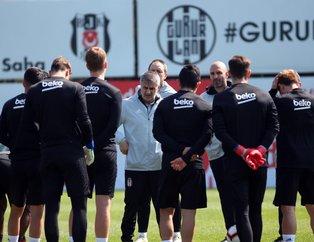 Beşiktaş'ın Çaykur Rizespor kafilesi  belli oldu! Şenol Güneş iki ismi kadroya almadı