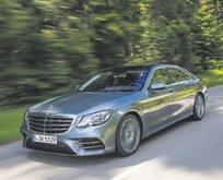 Yenilenen Mercedes S-serisi yollarda