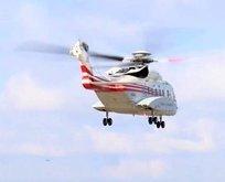 Başkan Erdoğan helikopter ile üstünden geçti