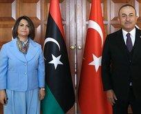 Çavuşoğlu'ndan Libya'da önemli mesajlar!