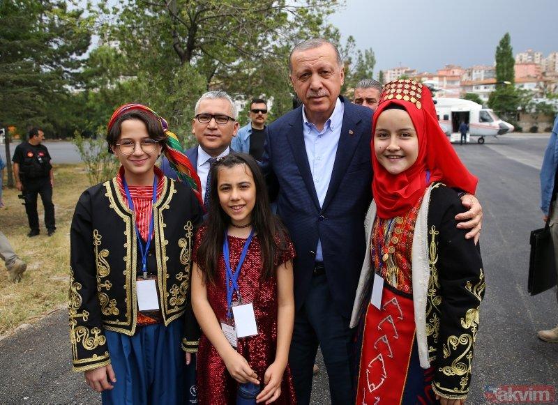 Niğdede Erdoğan coşkusu