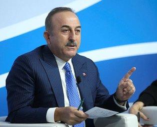 Bakan Çavuşoğlu'ndan Avrupa Konseyi'ne çağrı