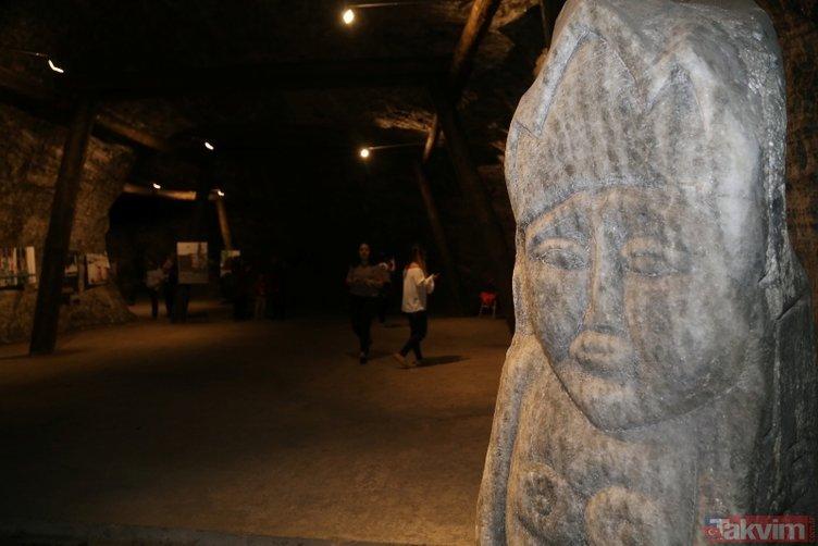 Çankırıda 5 bin yıllık mağaraya ziyaretçi akını