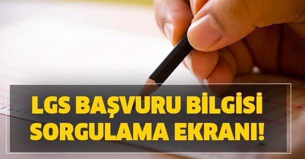eokul.meb.gov.tr LGS başvuru bilgisi sorgula!