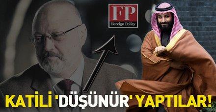 Foreign Policy dergisi Prens Muhammed Bin Selman'ı 2019 Küresel Düşünür seçti