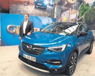 Opel'den yeni bir SUV: Grandland x