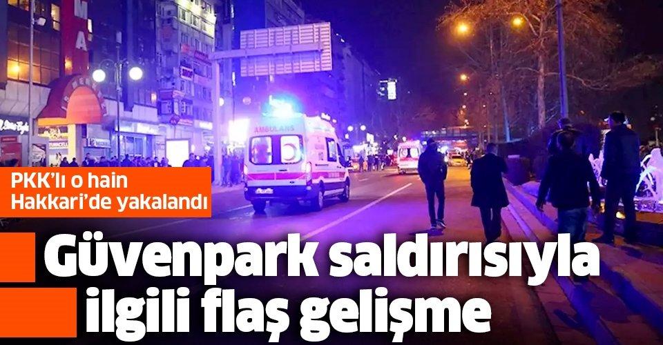 Son dakika: Ankara'daki Güvenpark saldırısıyla ilgili flaş gelişme!