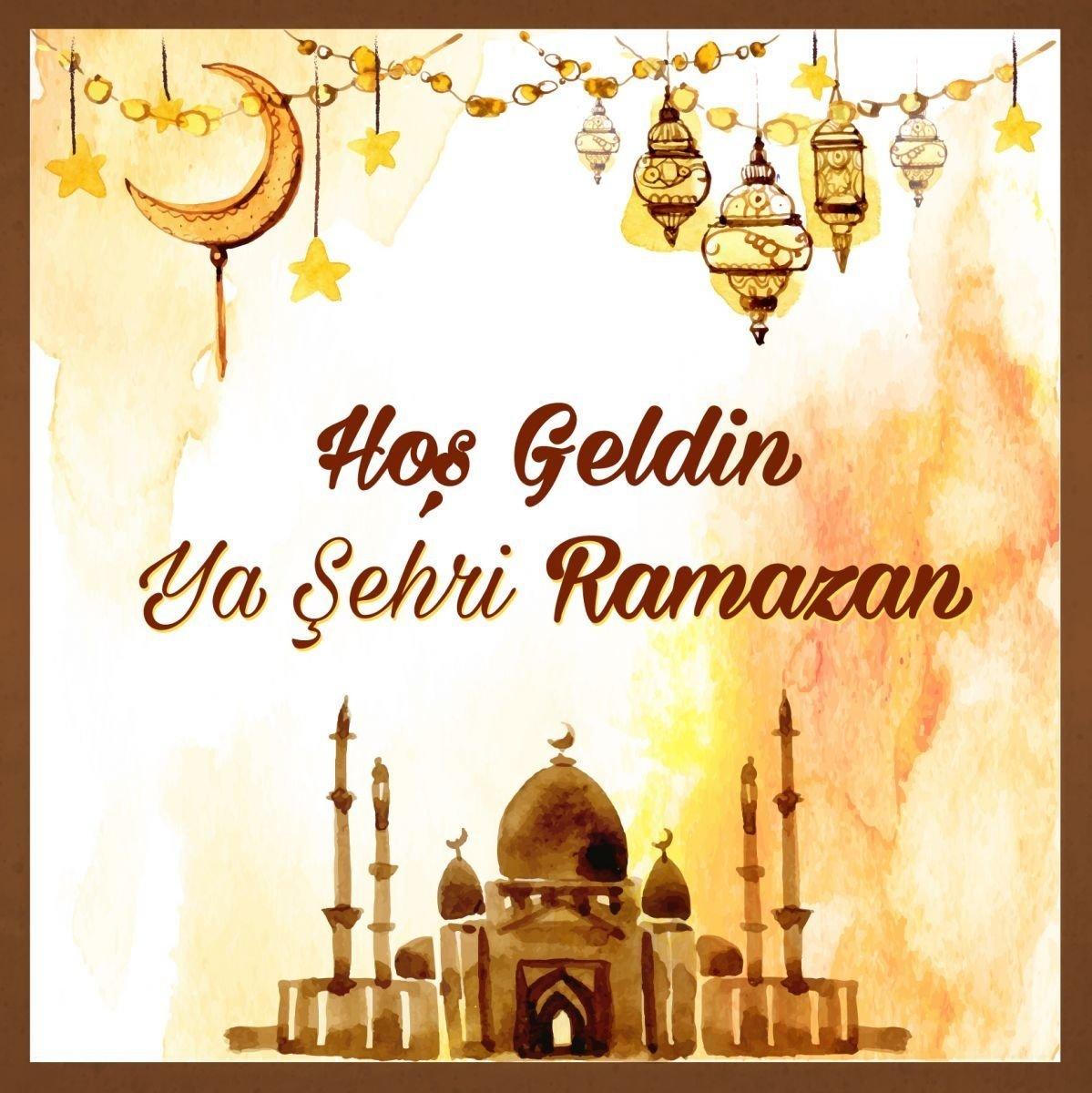 Ramazan mesajları 2018! On bir ayın sultanı Resimli 'Hoşgedin Ramazan' mesajları