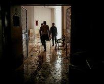Esed rejiminin Halep'te hastaneyi vurması....