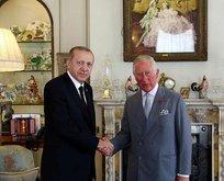 Erdoğan Galler Prensi Charles ile görüştü