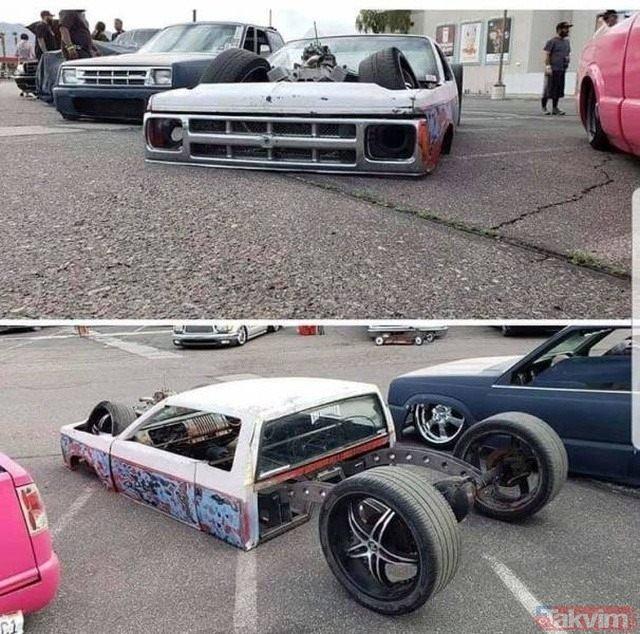 Görenleri hayretlere düşüren ilginç otomobil tasarımları