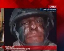 PKK'lı teröristleri avlayan komandolar canlı yayında