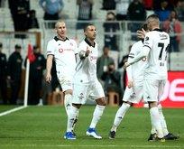 Beşiktaş evinde galip!