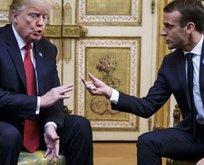 Trumptan Macrona çok sert gönderme!