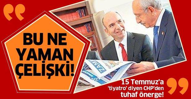 CHP'den FETÖ'nün siyasi ayağı için komik önerge!