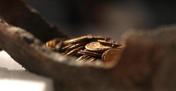 Roma döneminden kalma hazine bulundu