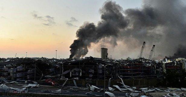 THY'den Beyrut'taki patlamayla ilgili açıklama