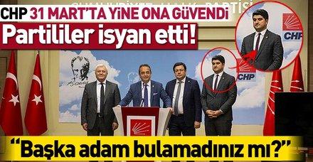 CHP'lilerden Onursal Adıgüzel isyanı: Başka adam bulamadınız mı?