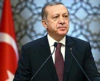 Başkan Erdoğan'dan şehit ailelerine başsağlığı