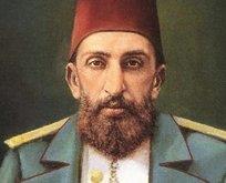 İlk defa göreceksiniz! Sultan Abdülhamid Han...