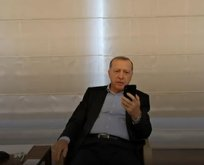 Başkan Erdoğan Leyla Gülüşken ile görüştü