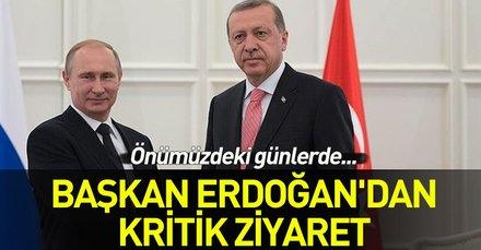 Son dakika... Başkan Erdoğan Rusya'ya gidiyor