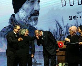 Erdoğandan Cumbula insanlık dersi