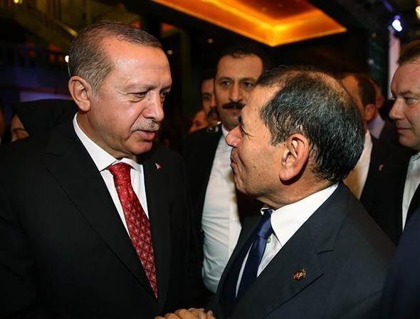Dursun Özbek, Erdoğan'a söz verdi