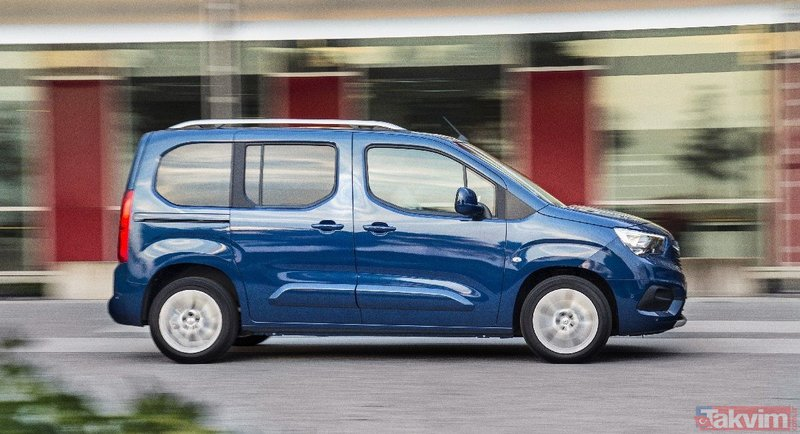 Opel hafif ticari araç B segmenti üyesi olan Combo ile Türkiye'de