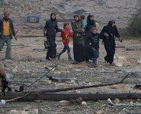 Halepte  tahliye yeniden başlayacak