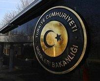 Türkiye'den Belçika'ya sert tepki